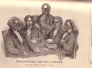 Washington And His Cabinet ...